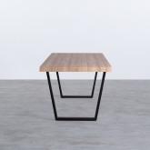 Table de Salle à Manger Rectangulaire en MDF (190x90 cm) Valle, image miniature 3