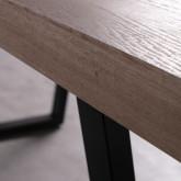 Table de Salle à Manger Rectangulaire en MDF (190x90 cm) Valle, image miniature 6