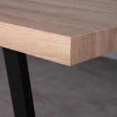 Table de Salle à Manger Rectangulaire en MDF (190x90 cm) Valle, image miniature 9