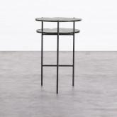 Table d'Appoint en Verre (Ø39 cm) Karen, image miniature 3