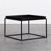 Table d'Appoint Carrée en Métal (59x59 cm) Cubo, image miniature 1