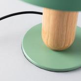 Lampe de Table en Métal et Bois Padden, image miniature 6