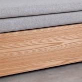 Canapé-lit d'angle à Droite 3 Places en Tissu Nato, image miniature 9