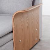 Canapé-lit d'angle à Droite 3 Places en Tissu Nato, image miniature 10