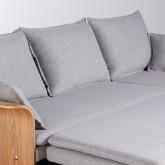Canapé-lit d'angle à Droite 3 Places en Tissu Nato, image miniature 11