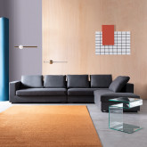 Canapé d'angle à Droite 4 Places en Tissu Dicman, image miniature 2