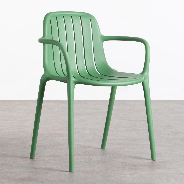 Chaise d'Extérieur en Polypropylène Brand, image de la gelerie 1
