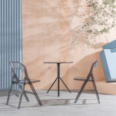 Chaise de Salle à manger en Polycarbonate Flex Clic, image miniature 2