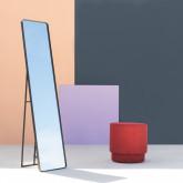 Pouf Rond en Tissu Runor, image miniature 2