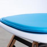 Coussin en Similicuir pour Chaises Nordiques Edition, image miniature 3