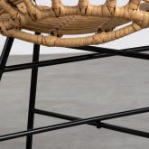 Sedia da Pranzo in Rattan Sintetico Nuler, immagine in miniatura 5
