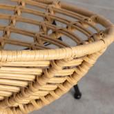 Sedia da Pranzo in Rattan Sintetico Nuler, immagine in miniatura 6