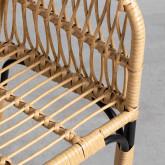 Sedia da Pranzo in Rattan Sintetico Nila, immagine in miniatura 5
