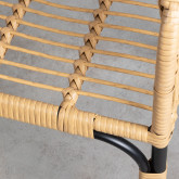 Sedia da Pranzo in Rattan Sintetico Nila, immagine in miniatura 6
