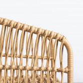Sedia da Pranzo in Rattan Sintetico Nila, immagine in miniatura 7