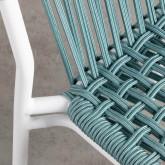 Sedia da Esterno di Alluminio e Tessuto Olefinico Alorn, immagine in miniatura 7
