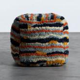 Pouf Quadrato in Tessuto Viele, immagine in miniatura 3