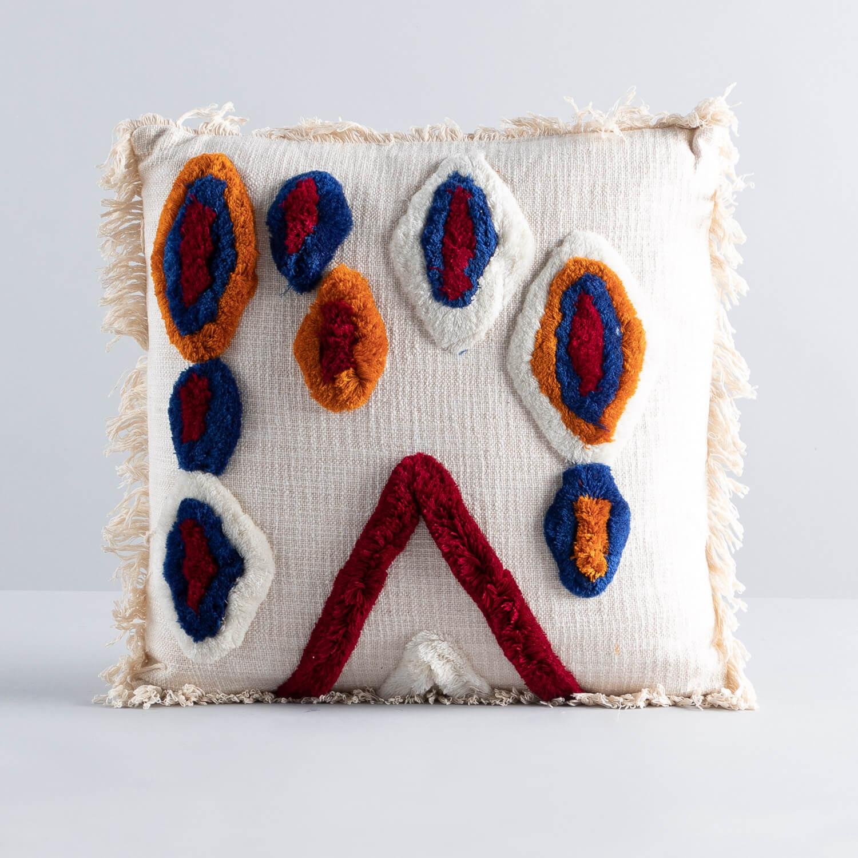 Cuscino Quadrato in Cotone (50x50 cm) Fares, immagine della galleria 1