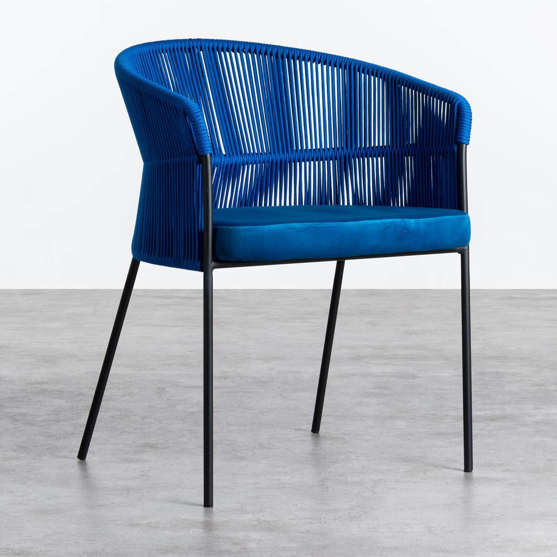 Sedia in Velluto e Cuerda Kila, immagine della galleria 1