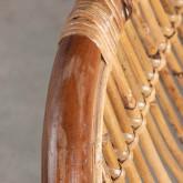 Sedia da Pranzo in Rattan Naturale Bagua, immagine in miniatura 7