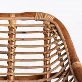 Sedia da Pranzo in Rattan Naturale Bagua, immagine in miniatura 8