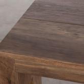 Tavolo da Pranzo Allungabile in MDF (45-180x90 cm) Ville, immagine in miniatura 13