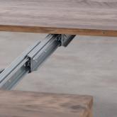 Tavolo da Pranzo Allungabile in MDF (45-180x90 cm) Ville, immagine in miniatura 14