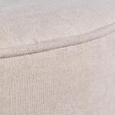 Pouf Rotondo in Tessuto Runor, immagine in miniatura 3
