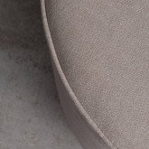 Pouf Rotondo in Tessuto Runor, immagine in miniatura 4