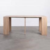 Tavolo da Pranzo Estendibile in MDF GUEST  (45,5-180,5x90 cm) Guest Rustic, immagine in miniatura 7
