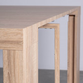 Tavolo da Pranzo Estendibile in MDF GUEST  (45,5-180,5x90 cm) Guest Rustic, immagine in miniatura 8