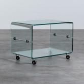 Tavolino da Caffé Rettangolare in Vetro (60x40 cm) Rolcras, immagine in miniatura 1