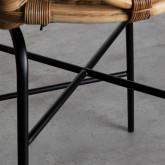 Sgabello Alto in Rattan Naturale Romas (66 cm), immagine in miniatura 6
