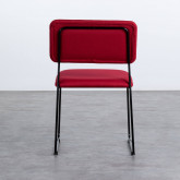 Sedia in Tessuto e Acciaio Boma, immagine in miniatura 3
