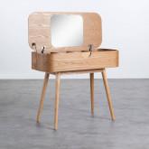 Toilette in MDF con Cassetti e Specchio Tika, immagine in miniatura 3