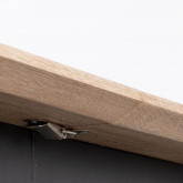 Tavolo da Pranzo Allungabile in MDF e Metallo (160-200x90 cm) Arbo, immagine in miniatura 10