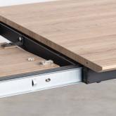Tavolo da Pranzo Allungabile in MDF e Metallo (160-200x90 cm) Vedra, immagine in miniatura 9