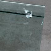 Tavolino da Caffé Rettangolare in Vetro (60x38 cm) Alpay, immagine in miniatura 6
