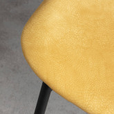 Sedia in MDF e Similpelle Tallor, immagine in miniatura 5