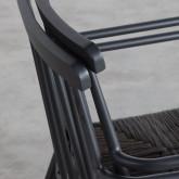 Sedia Outdoor in Rattan e Alluminio Honti, immagine in miniatura 11