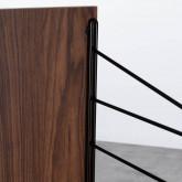 Struttura a 1 lato - Scaffale modulare Omar, immagine in miniatura 6