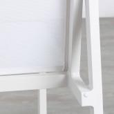 Sedia da Esterno in Alluminio e Textilene Beldin, immagine in miniatura 7