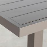 Tavolo da Esterno Quadrato in Alluminio (90x90 cm) Amane, immagine in miniatura 5