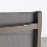 Sgabello Alto in Alluminio e Textilene  Amane (74 cm) , immagine in miniatura 7