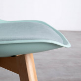 Sedia da Pranzo in Polipropilene e Tessuto Fine Freya Fabric, immagine in miniatura 5