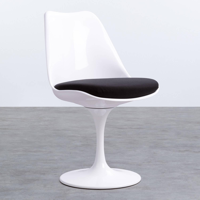 Sedia da Pranzo in Polipropilene e Metallo Freya White, immagine della galleria 1
