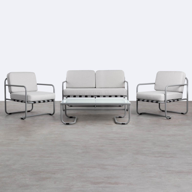 Set da Esterni in Alluminio e Tessuto Paradise, immagine della galleria 1