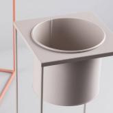 Fioriera Rotonda in Metallo Cosme, immagine in miniatura 6
