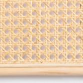 Testiera da Letto in Rattan Naturale (185 cm) Klaipe, immagine in miniatura 6