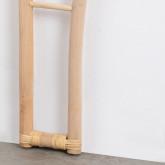 Testiera da Letto in Rattan Naturale (185 cm) Klaipe, immagine in miniatura 7